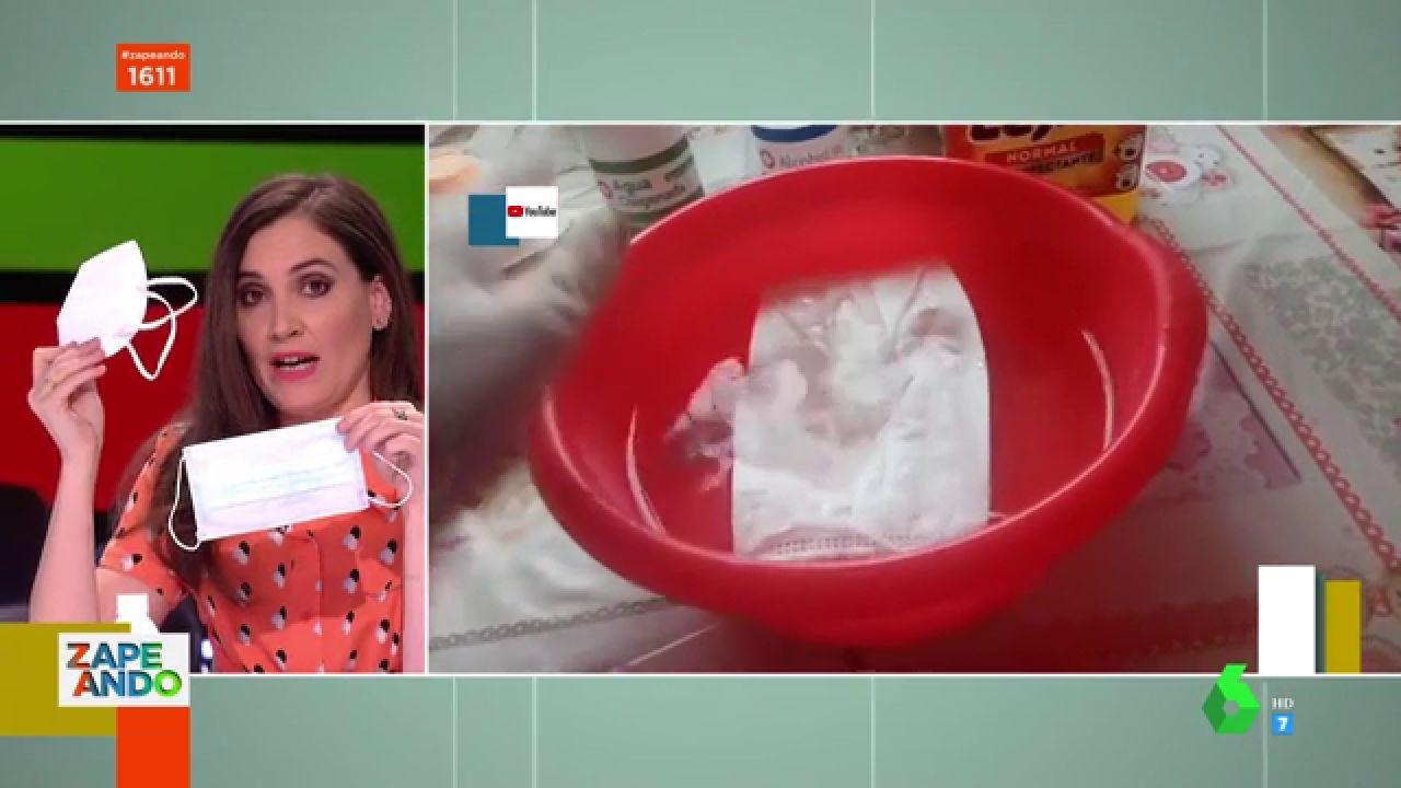 Como desinfectar las mascarillas: Boticaria Garcia te da las claves para no dañar sus filtros