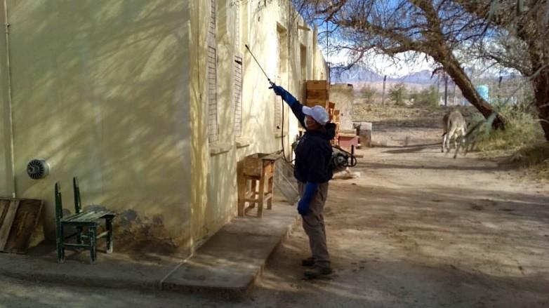 Salud Publica y la Municipalidad de Iglesia articulan acciones para prevenir el mal de Chagas
