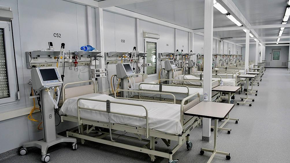 La ocupacion de camas de terapia intensiva en el AMBA trepo hasta el 54,2%