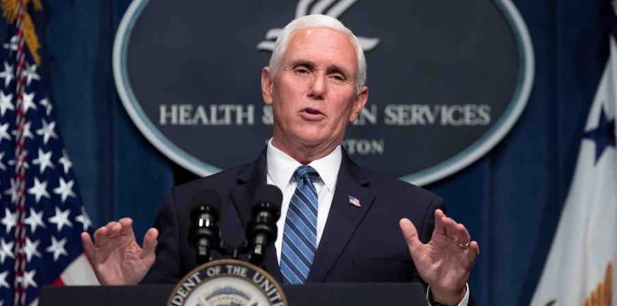 Mike Pence pospone actos de campaña en Arizona y Florida por coronavirus