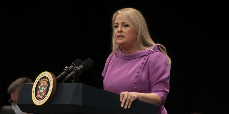 Wanda Vázquez barely offered budget details in her state message