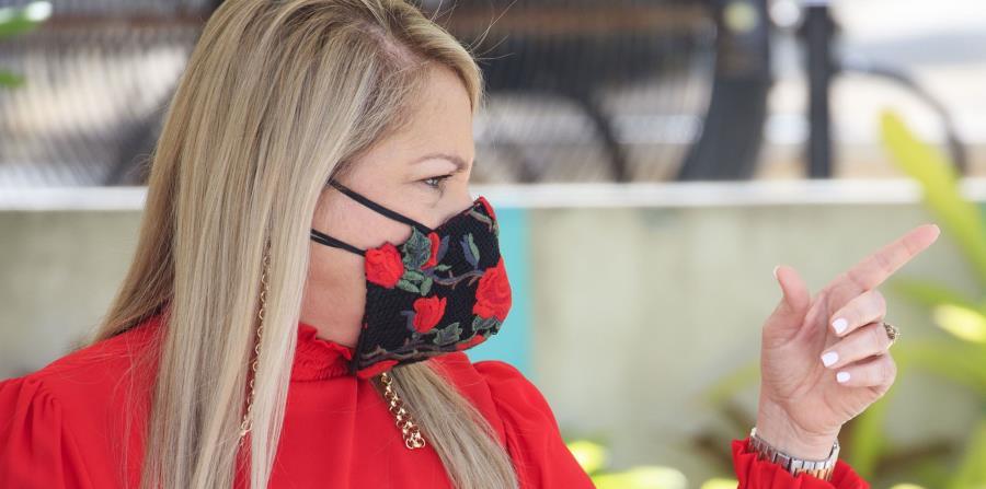 Wanda Vázquez pide acción al Senado federal para mitigar el coronavirus y los terremotos