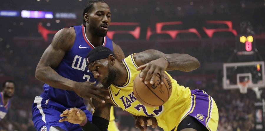 Partido entre los Lakers y Clippers abrirá la reanudación de la NBA