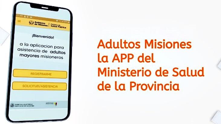 """El ministro de Salud de Misiones anuncio la incorporacion de la aplicacion """"Adultos Mayores Misiones"""" para una mejor atencion de la poblacion en riesgo"""