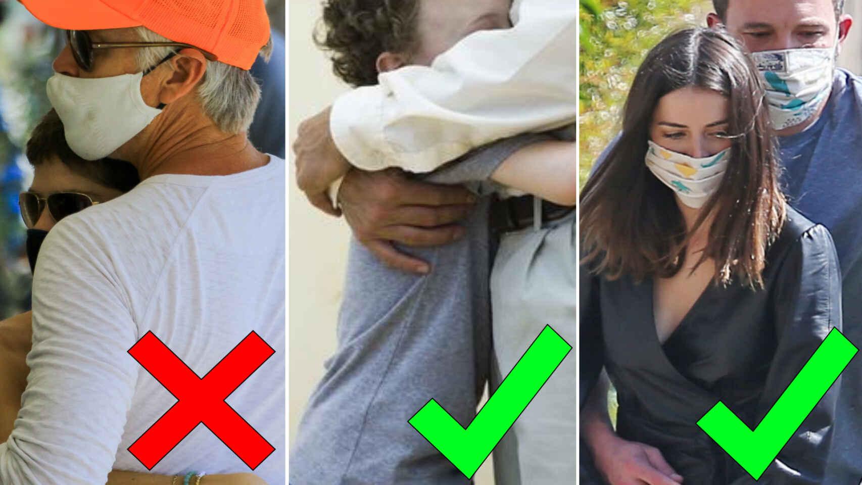 Esta es la unica manera de abrazarse con seguridad por el Covid-19 segun la ciencia