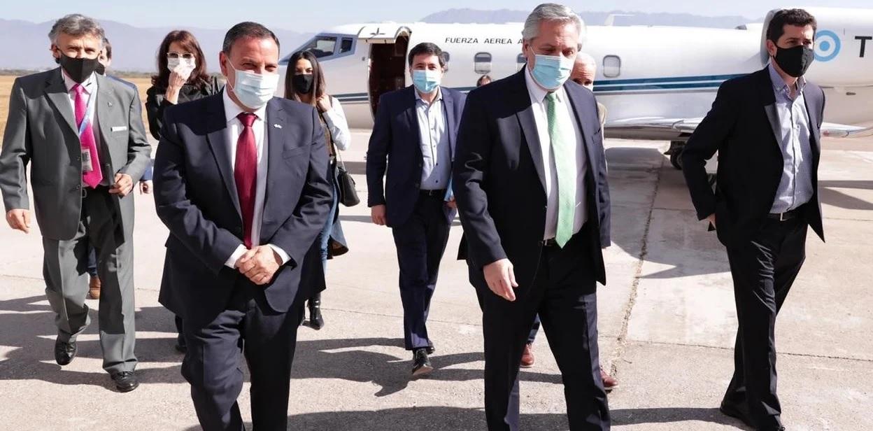 Coronavirus: Alberto Fernandez suspendio su viaje a Catamarca tras el positivo de Martin Insaurralde