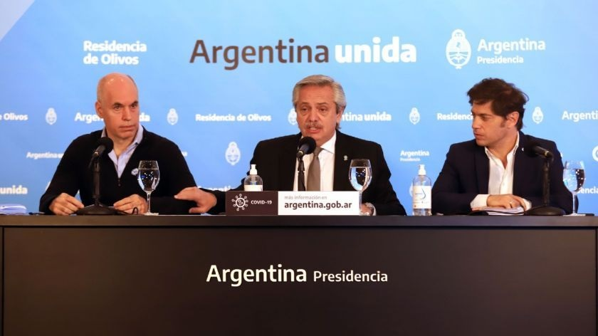 Alberto Fernandez anunciaria este jueves el endurecimiento de la cuarentena