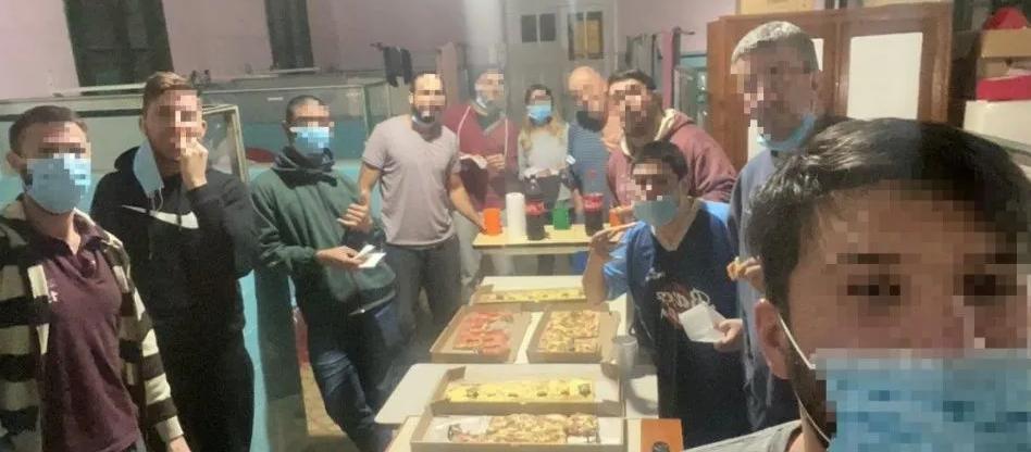 Causaron un brote de coronavirus por tomar mate en grupo y comieron pizza en el hospital