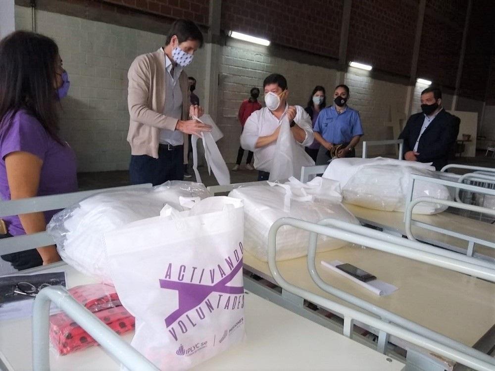 "Donan a Salud Publica siete camas ortopedicas restauradas a traves del programa ""Activando Voluntades"""