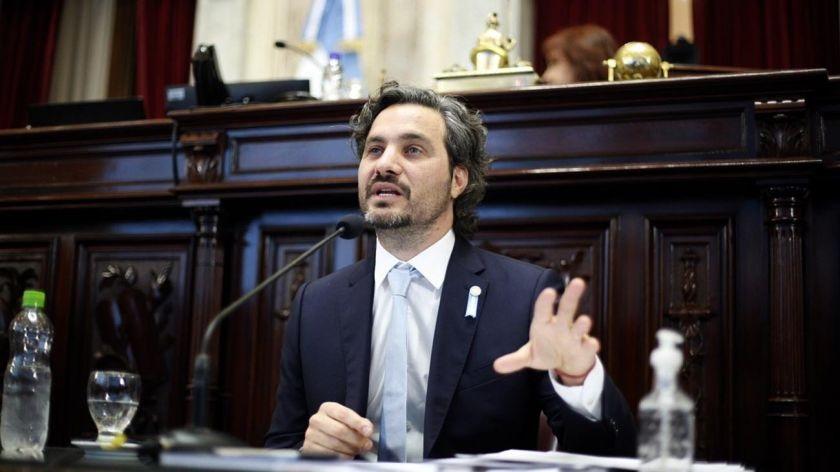 """Santiago Cafiero, sobre el aumento de contagios: """"Necesitamos que baje el nivel de circulacion"""""""