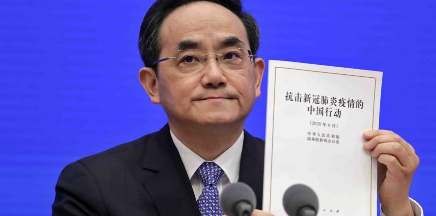 China defiende su gestión ante el COVID-19 y asegura que no tardó en informar sobre el virus