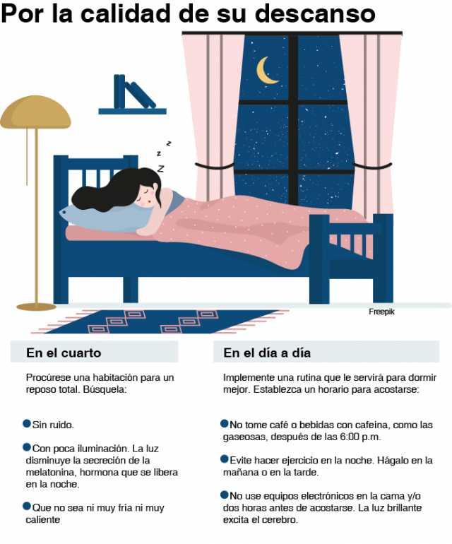 ¡Que la pandemia no le quite el sueño!