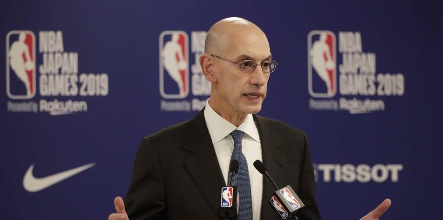 """Adam Silver sobre el regreso de la NBA: """"No hay opciones sin riesgos en este momento"""""""