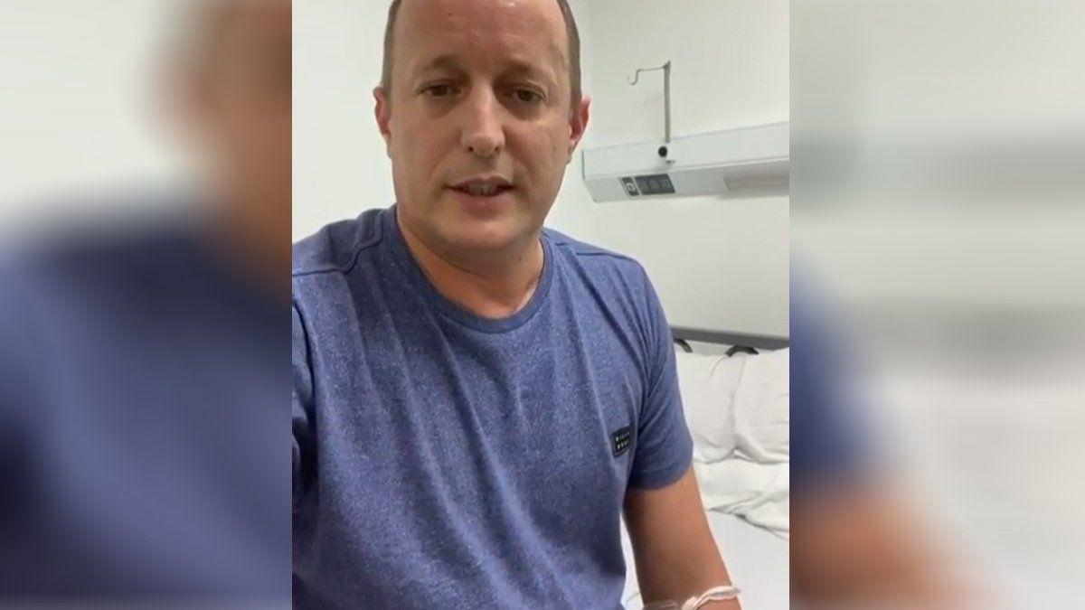 """Martin Insaurralde, sobre su estado de salud: """"Me siento cansado, tengo fiebre constante"""""""
