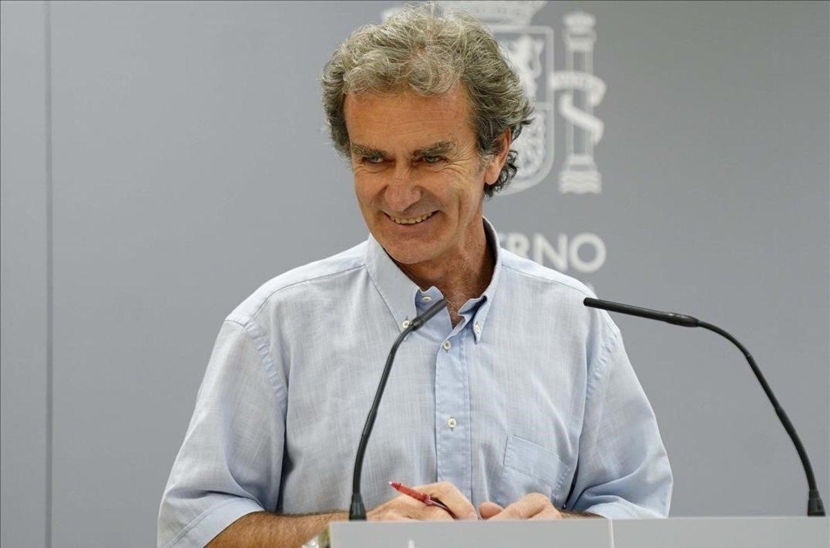 """Simon califica las mascarillas FFP2 como """"egoistas"""" y pide las quirurgicas"""