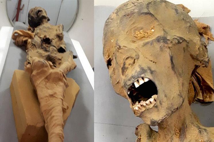 """Resuelto el misterio de """"la momia de la mujer que grita"""""""
