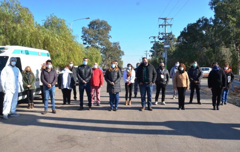 Exhaustivo control a los transportistas en El Encon y Bermejo