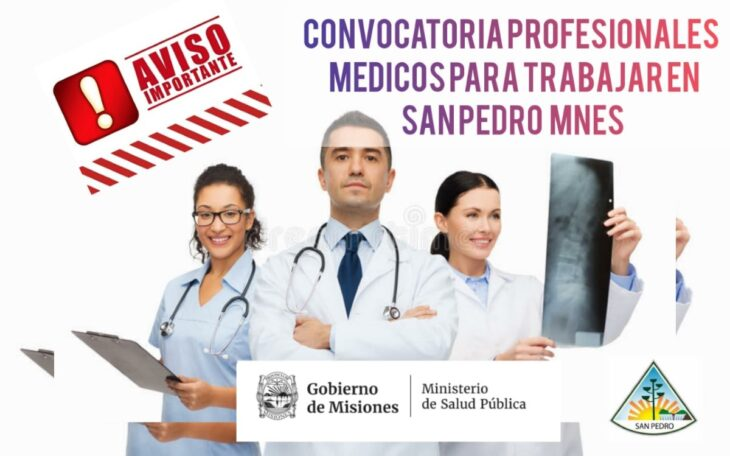 El ministerio de Salud Publica convoca a medicos especialistas para el hospital de San Pedro
