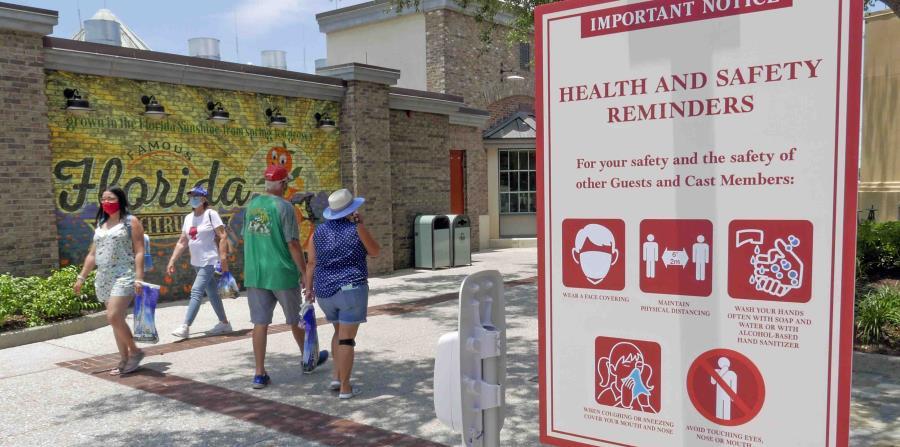 Estados Unidos supera por primera vez los 50,000 contagios de COVID-19 en 24 horas
