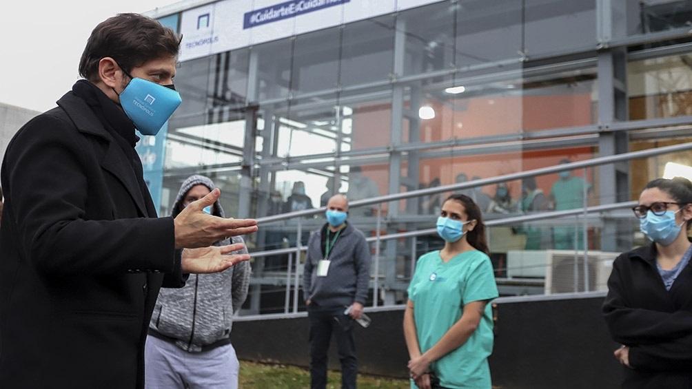 """Axel Kicillof, sobre el avance del coronavirus: """"Estamos en lo peor de la pandemia"""""""