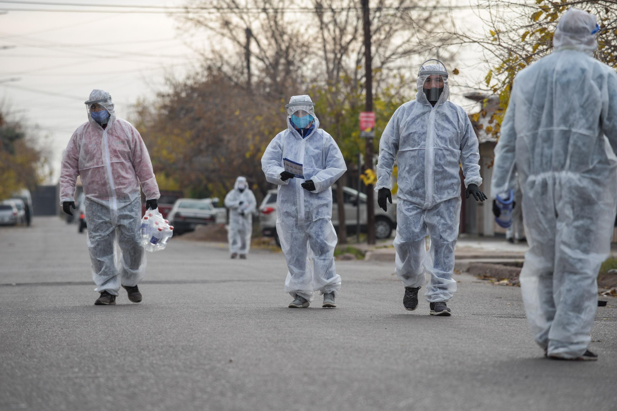 Coronavirus: 4.192 nuevos casos y 46 muertes en las ultimas 24 horas en Argentina