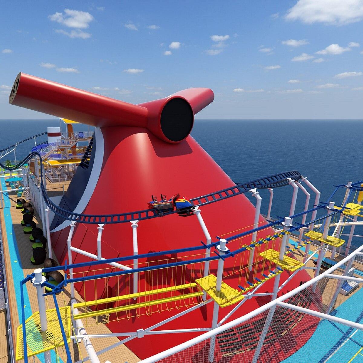 Carnival pospone el viaje inaugural del barco Mardi Gras hasta febrero de 2021