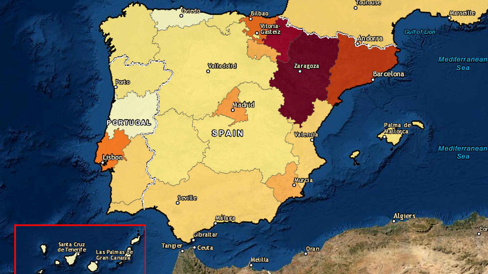 El triunfo de Asturias contra el Covid-19: asi ha evitado desastres como el de Aragon