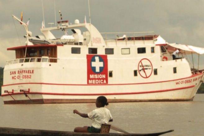 Recuperan los elementos robados del Barco Hospital San Raffaele