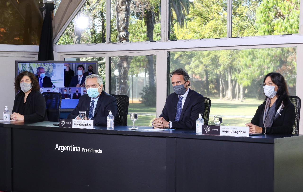 """Alberto Fernandez: """"El pico pide que seamos prudentes"""""""