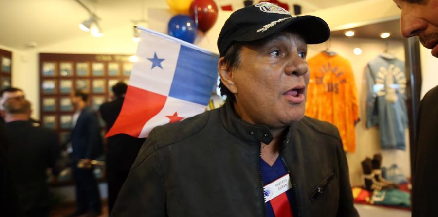 """""""Mano de Piedra"""" Durán es dado de alta en Panamá tras dar positivo al coronavirus"""