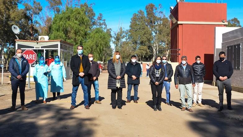 Funcionarios de Salud, Turismo y Seguridad visitaron Calingasta