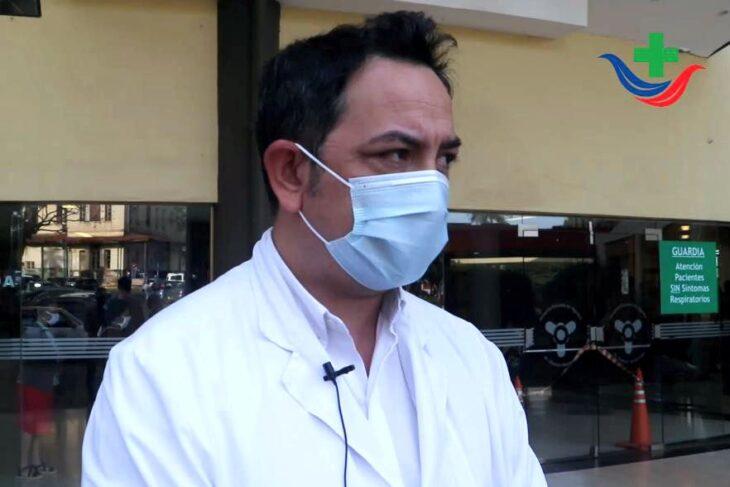 Coronavirus. destacan que se estan retomando las actividades en forma gradual en el Hospital Madariaga de Posadas