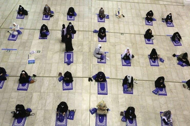 Arranco la peregrinacion islamica a La Meca con estrictas medidas por el coronavirus