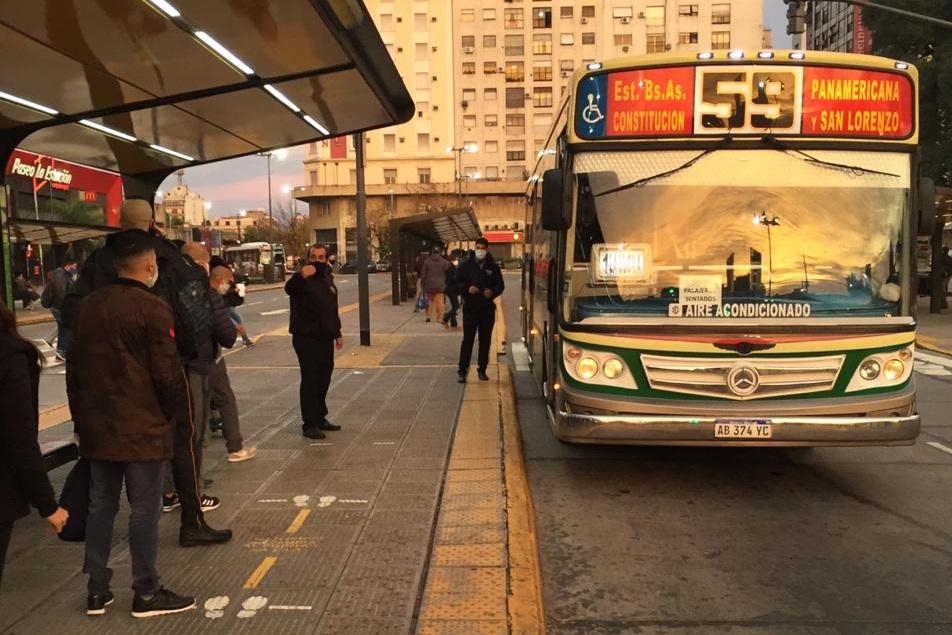 AMBA: la circulacion en el transporte publico es la mas baja desde abril