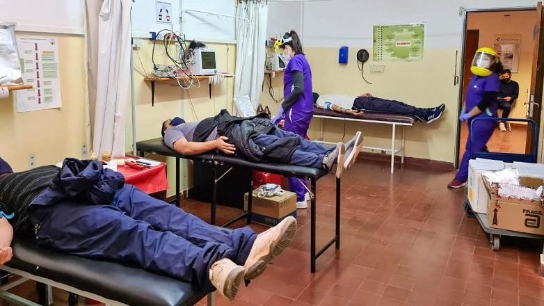 En Barreal se realizo una nueva convocatoria para donar sangre