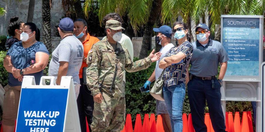 Florida registra más de 10,000 casos de COVID-19 en las últimas 24 horas