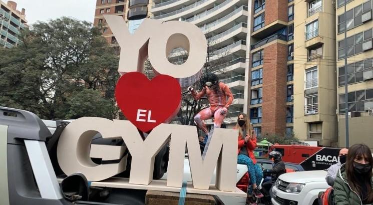 """En Cordoba, bajo la consigna """"los gimnasios son salud"""" quieren hacer una """"apertura forzada"""""""