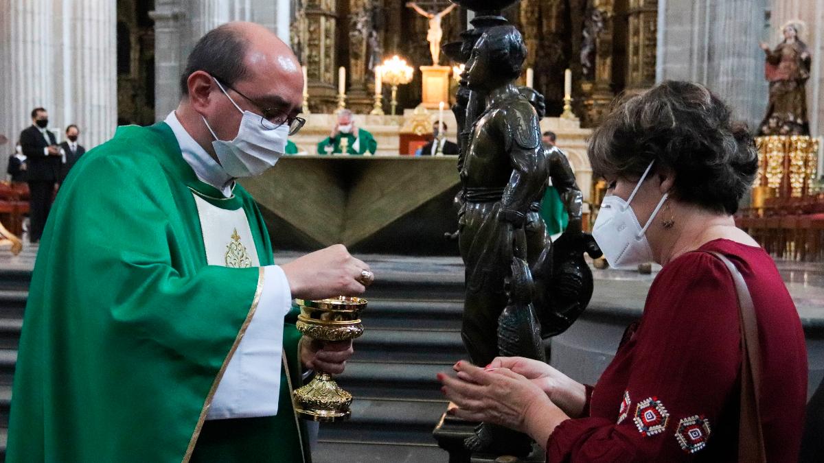 Fervor en la pandemia: Iglesia catolica mexicana reanuda misas