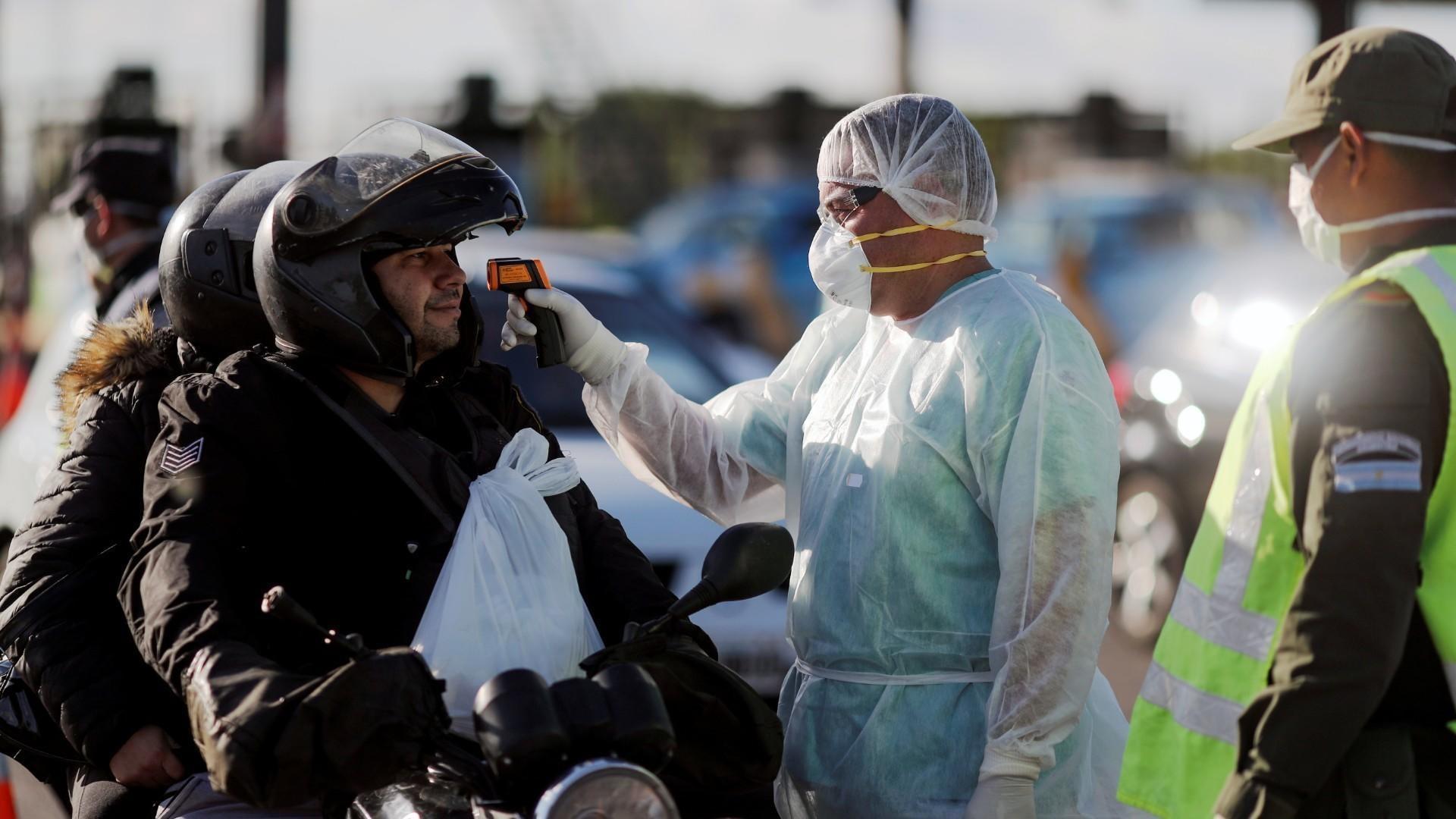 Coronavirus: 3.449 contagiados y 36 muertos en 24 horas en Argentina