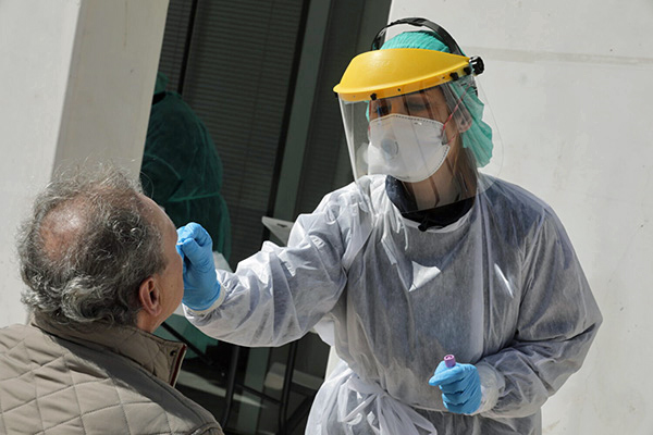 Dia de miercoles: con 40 nuevos casos de coronavirus Rosario sumo otro record
