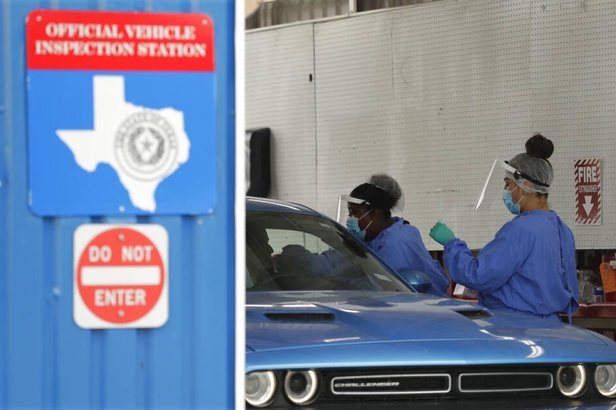 Texas registra 10,000 casos de coronavirus en un solo dia