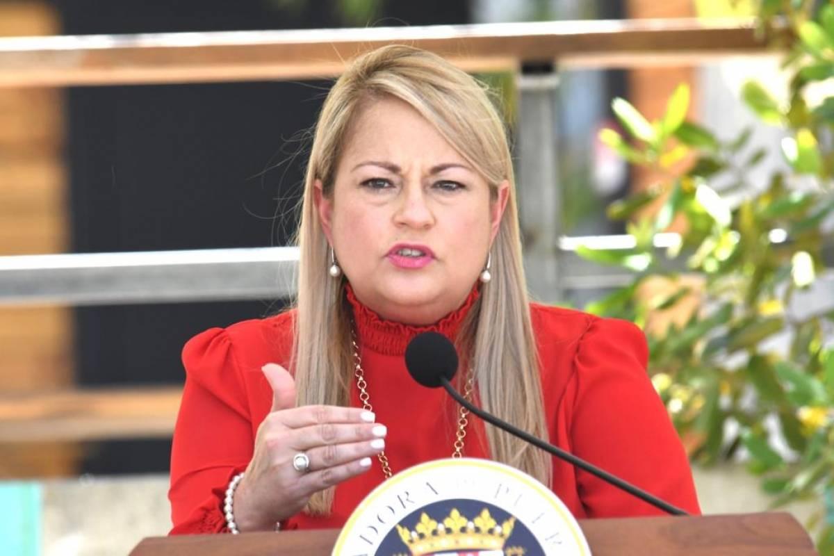 Wanda Vazquez pide aprobacion de dos proyectos economicos en el Senado federal