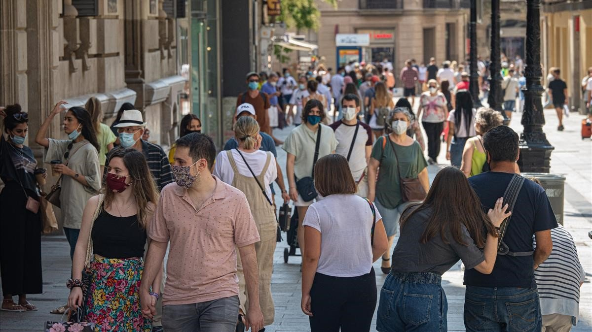 """El sistema sanitario catalan vive """"dias criticos"""" por el covid-19"""