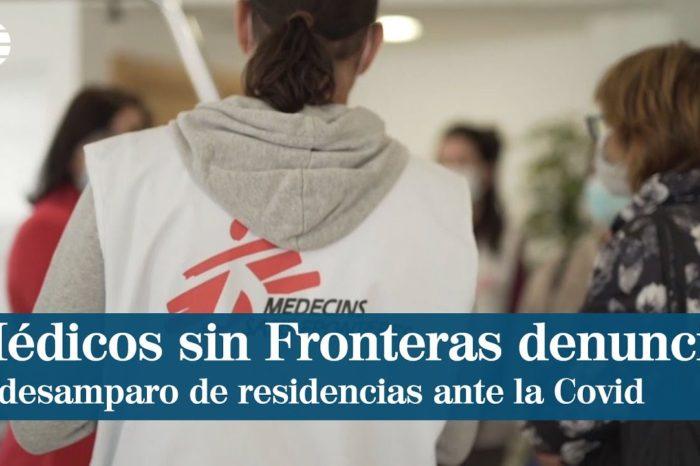 """Medicos sin Fronteras denuncia el """"desamparo"""" de las residencias de mayores y pide medidas para que """"no se repita"""""""