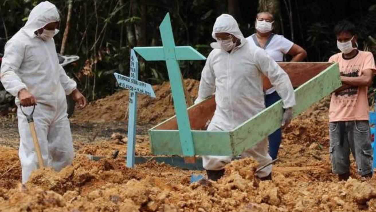 Coronavirus: Brasil supero los 100 mil muertos y Chile los 10 mil