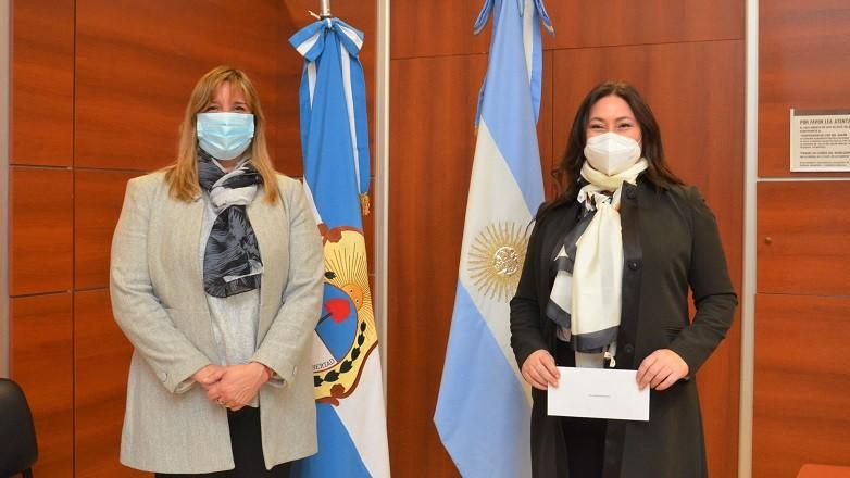 Asumio Marianna Miguez como integrante del Directorio del Hospital Dr. Guillermo Rawson
