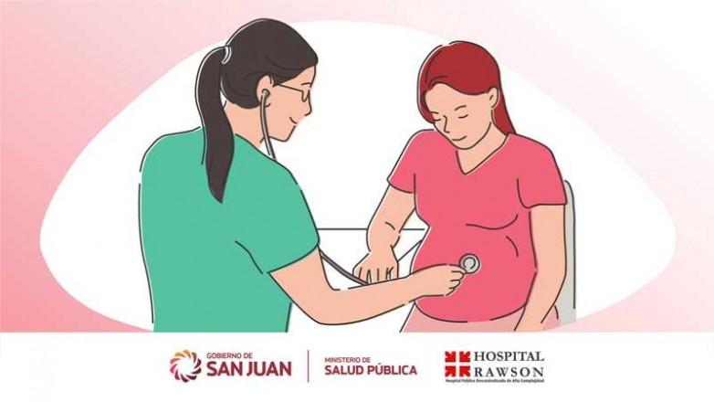 El trabajo de Obstetricia plasmado en su dia