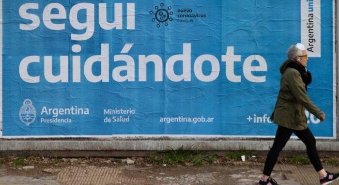 Coronavirus: se confirmaron 382 muertes y 8713 casos en las ultimas 24 horas en Argentina
