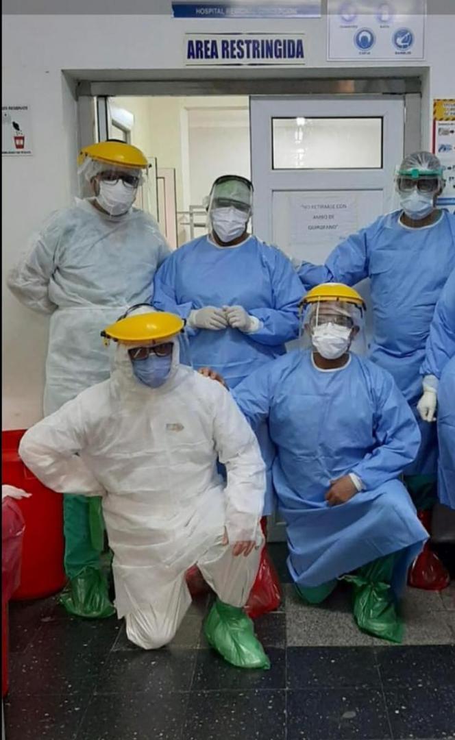 Internacion en Concepcion: como fue la operacion a la paciente con covid