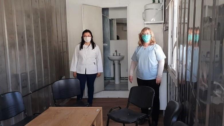 El hospital Dr. Cesar Aguilar de Caucete estrena dos modulos habitacionales